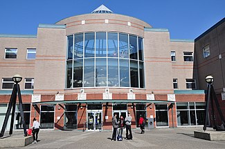 Kwantlen Polytechnic University, Richmond campus, front entrance.JPG
