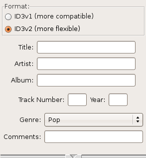 Using Audacity/Editing ID3 Tags - WikiEducator