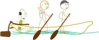 Stickman and farmers in canoe smaller.jpg