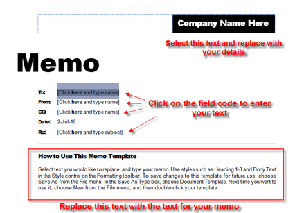 Word processingWorking with documentsDocument types WikiEducator – Confidential Memo Template