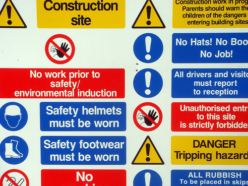 Protect health and safety in the workplace