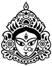 Indian Faces Coloring Pages