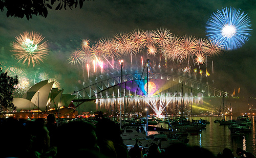 New Years Eve Sydney       Image courtesy of linh_rom