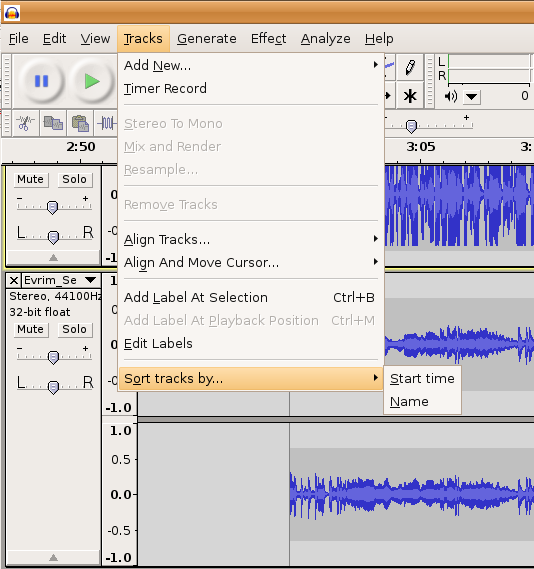Image:audacity_sort-tracks.png