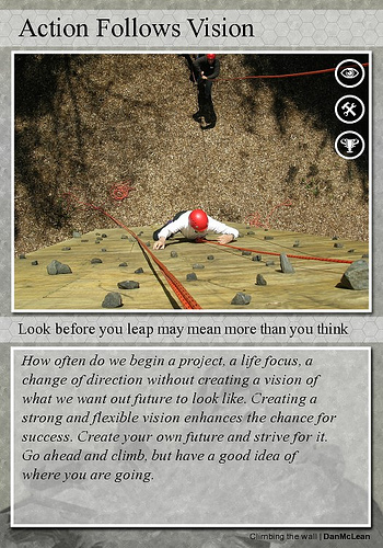 direction importance of vision