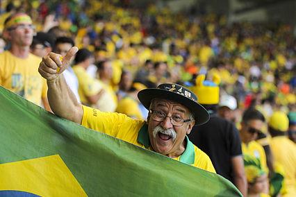Photo: Brazil vs. Chile in Mineirão 17.