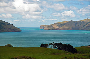 Akaroa Harbour, Canterbury