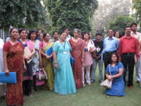 sunita in group photo