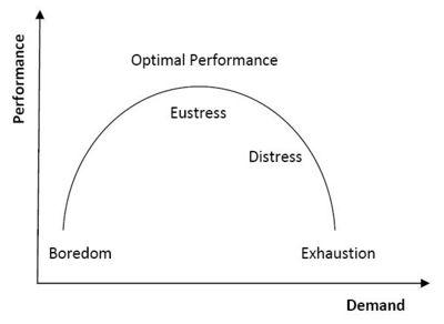 Human Performance Curve(Payne, 2005, p.24)