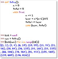 Tetrahedral Numbers