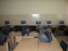 the 25 seater computer lab is ready to receive participants