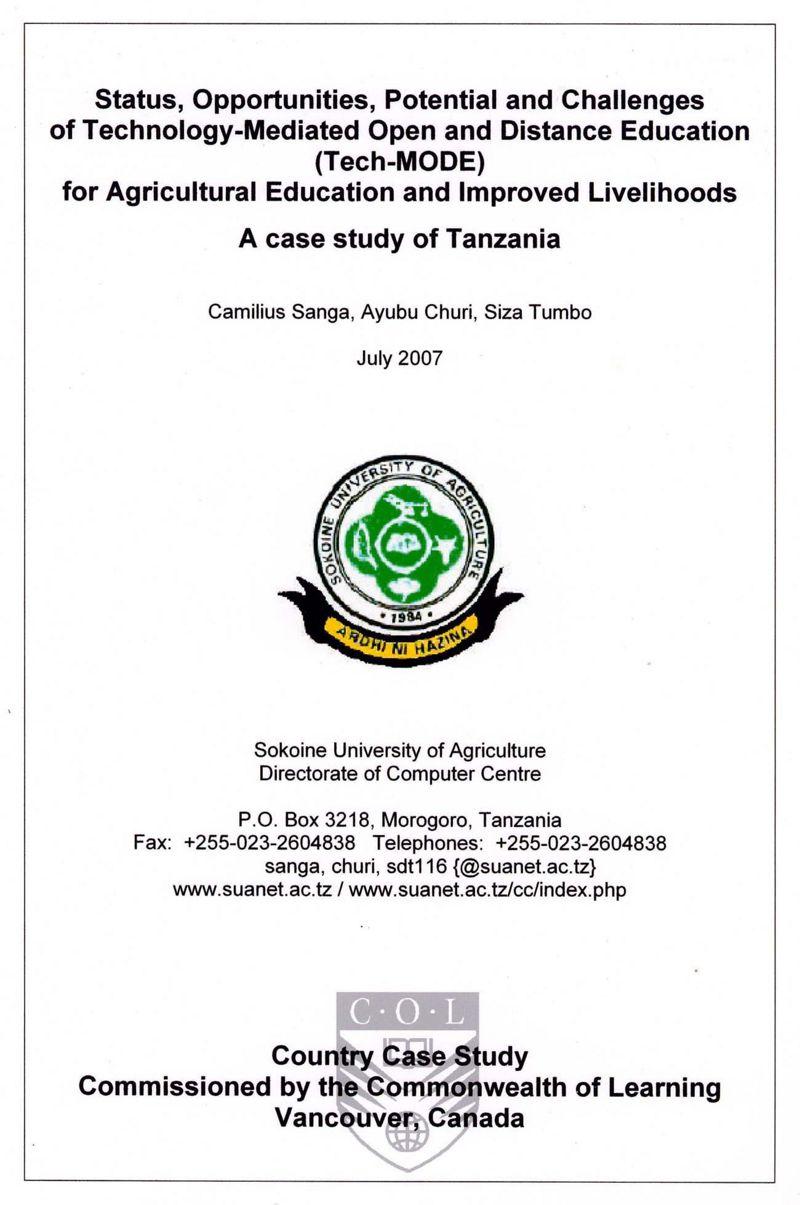 tech-mode in tanzania