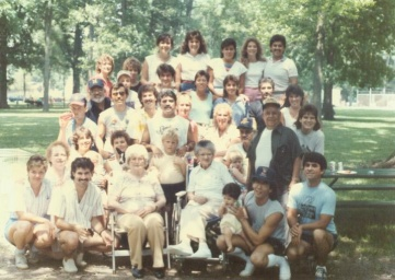 family reunion photo used to illustrate kinship
