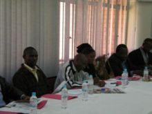 participants at the L4C Preparatory meeting
