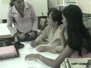 Microteach Geeta Reddy explains to colleagues.jpg