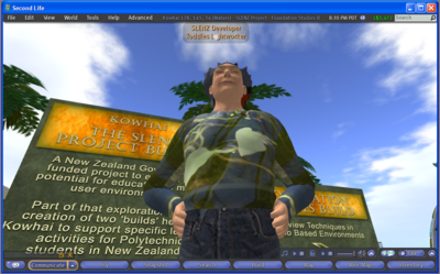 Using Second Life - a guide for learners - WikiEducator