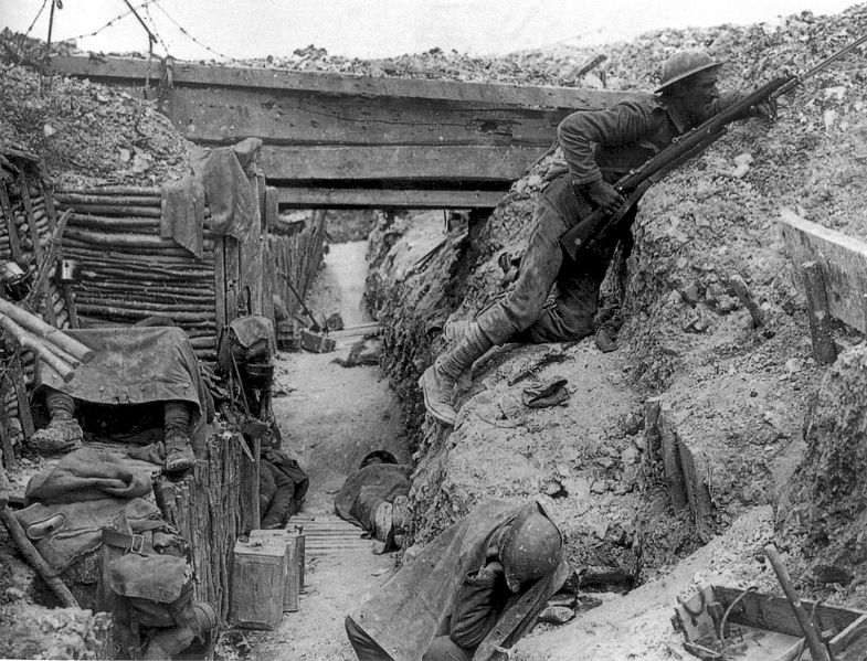 trench warfare characteristics life trenches and propagand
